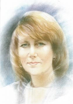 narisovani portret