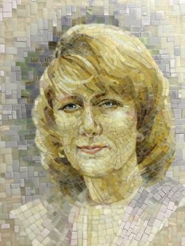 mosaic portret